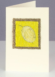 Honesty Yellow - one of our handmade Honesty cards